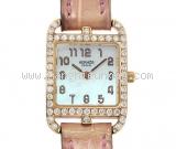 Đồng hồ Hermes CC1 172 mặt sò viền kim cương