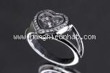 Nhẫn Chopard kim cương size 8