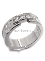 Nhẫn Tiffany& Co kim cương Atlas K18WG kim cương