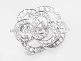 Nhẫn Chanel Camelia J2579 kim cương size 49