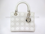 Túi xách Christian Dior lady dior trắng