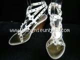Sandal Louis Vuitton màu trắng size 36