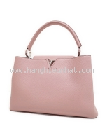 Túi xách Louis Vuitton capucines MM màu hồng