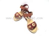 SA Giày Louis Vuitton màu đỏ vàng size 34