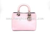 Túi xách Christian Dior màu hồng nhạt