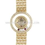 S Đồng hồ Chopard vàng K18YG full kim cương