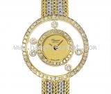 Đồng hồ Chopard vàng K18YG/WG kim cương