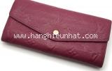 Ví da Louis Vuitton màu tím đỏ M60341