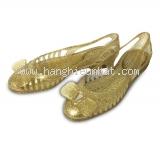 MS5230 Giày nhựa ferragamo size 7 màu vàng
