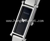 MS5221 Đồng hồ Gucci 1500L mặt đen cổ tay 14.5cm
