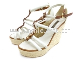 MS5105 Sandal Louis Vuitton trắng size 36 1/2