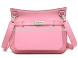 Túi đeo chéo Hermes jypsiere 28 màu hồng pink