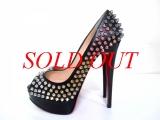 S Giày cao gót Christian Dior size 35 màu đen