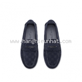 NEW Giày Louis Vuitton nam Moccasin da lộn