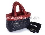 S Túi xách Chanel coco màu đỏ đen