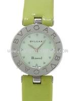Đồng hồ Bvlgari B-Zero 1 dây da xanh BZ22S
