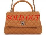 Túi xách Chanel Coco màu nâu