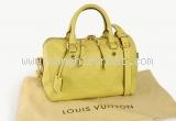 Túi Louis Vuitton speedy 25 da dê màu vàng xanh