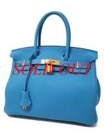 S Túi xách Hermes birkin 30 màu xanh