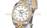 NEW Đồng hồ Rolex datejust 116233 mặt sò trắng