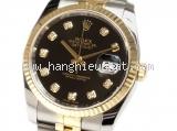 Đồng hồ Rolex mặt số đen 116233G