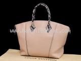 SA Túi xách Louis Vuitton Lockit màu hồng N92045