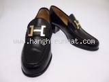 S Giày Hermes màu đen size 34