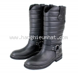 Boot Chanel màu đen size 38