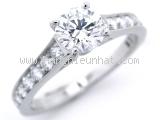 Nhẫn Cartier Pt950 kim cương 0.61ct size 52