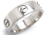 Nhẫn Cartier Love ring  750WG size 59-Nhan-Cartier-Love-ring--750WG-size-59