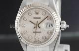Đồng hồ Rolex K18WG kim cương 79174G