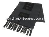 MS5400 Khăn Louis Vuitton cashmere đen