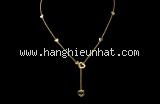 S Vòng cổ Tiffany&Co vàng 750YG