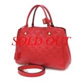Túi xách Louis Vuitton Montaigne màu đỏ M41194