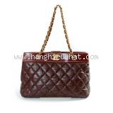 Túi xách Chanel màu nâu đỏ 1221159