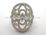 Nhẫn Louis Vuitton kim cương size 47 Q9C82A