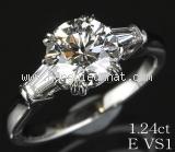 SA Nhẫn Harry Winston Pt950 kim cương size 7.5