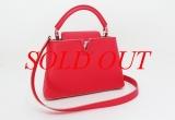 Túi xách Louis Vuitton Capucines BB màu đỏ M90940