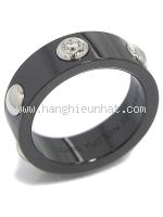 SA Nhẫn Louis Vuitton Pt950 kim cương 1P size 12