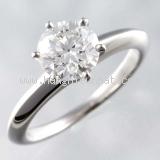 SA Nhẫn Tiffany&Co Pt950 kim cương 1.40ct size 10