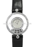 Đồng hồ Chopard kim cương dây da