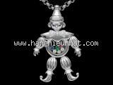 SA Vòng cổ Chopard kim cương chú hề 791.775