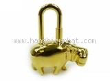 Hermes cadena con hà mã màu vàng