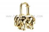Hermes cadena con voi màu vàng