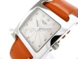 Đồng hồ Hermes dây da cam HH1.210