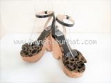Sandal cao gót Jimmy Choo da báo size 34