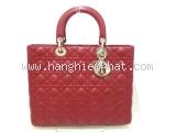 Túi xách Christian Dior Lady Dior màu đỏ