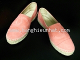 Giày chanel màu hồng bệt size 36 1/2