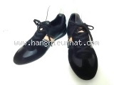 SA Giày Louis Vuitton màu đen nâu size 10
