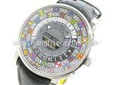 SA Đồng hồ Louis Vuitton dây da đen Q5D200